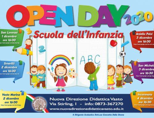 Open Day Online 2020 Scuola dell'Infanzia