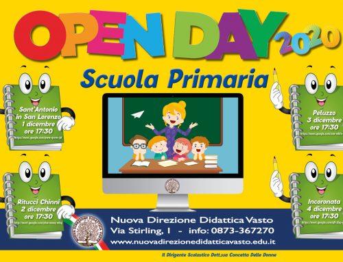 Open day online 2020 Scuola Primaria